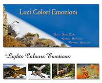 Libro fotografico naturalistico - luci colori emozioni